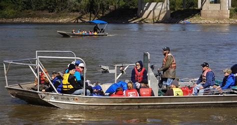 Boat Cleaning Kansas City by Missouri River Relief Is Cleaning Up The Big Muddy