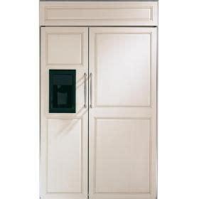ge monogram  built  side  side refrigerator