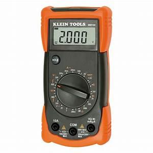 Manual Ranging Multimeter - Mm100