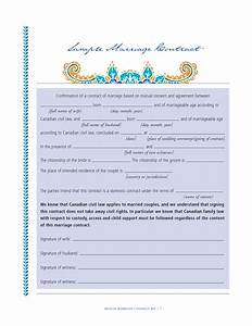 islamic marriage contract sample related keywords With islamic marriage certificate template