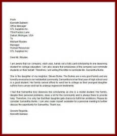 Higher Education Cover Letters Writing A College Recommendation For A Student