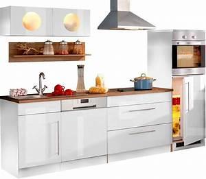 Küchenzeile 290 Cm Mit Elektrogeräten : held m bel k chenzeile keitum breite 270 cm otto ~ Bigdaddyawards.com Haus und Dekorationen