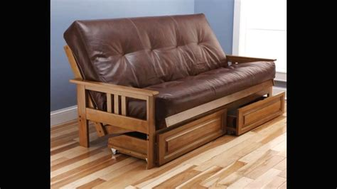 sofa bed wood youtube