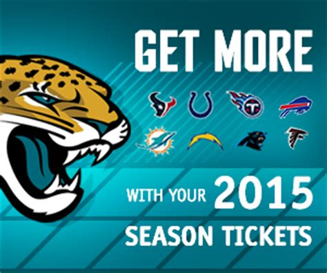 Jaguars Season Tickets by Roster Jaguars