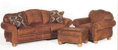Rustic Leather Loveseat by Upholstered Sofas Seats Recliners Accent Chairs