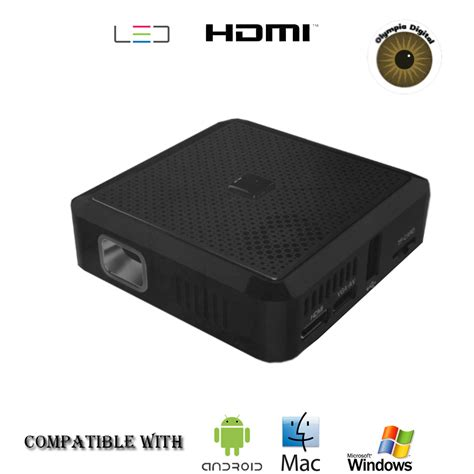 android compatible olympia digital pocket projector x20 hdmi compatible with