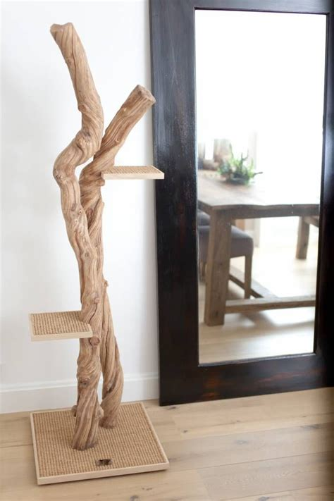 arbre a chat design bois beautiful and design cat tree made with liana wood arbre