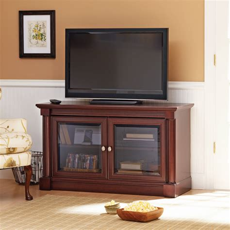 better homes and gardens tv stand better homes and gardens ashwood road cherry tv stand for