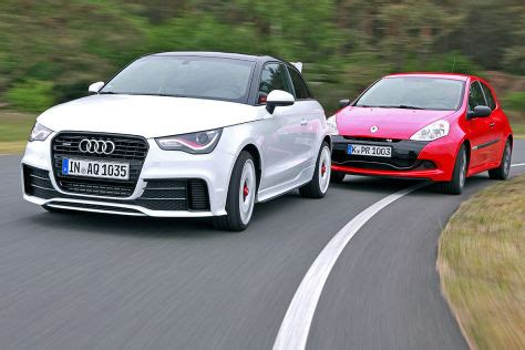 I30 Leser Test Aktion by Zwei Kleine Mit Df Audi A1 Quattro Trifft Auf Renault