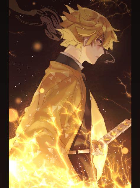zenitsu anime pic hd wallpapers wallpaper cave