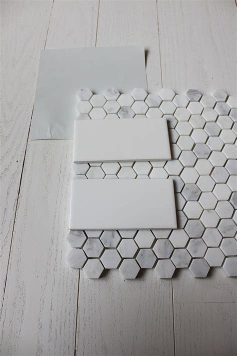 white grey floor tiles wickham gray subway tiles and love the floor tile paint and stenciled walls pinterest