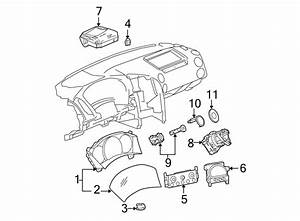 Pontiac Grand Prix Instrument Cluster