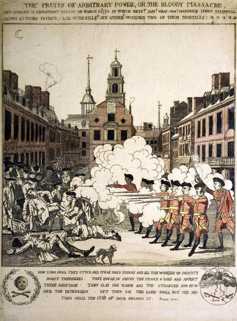 Boston Massacre by An Eye Witness To The Boston Massacre An Armchair Academic