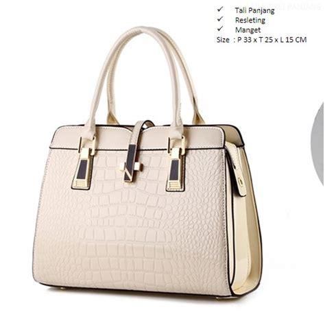 Tas Import Fn126 Beige jual b2702 beige tas fashion import grosirimpor