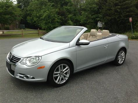 Sell Used Vw Eos, 2.0t Turbo, Convertible Hard Top