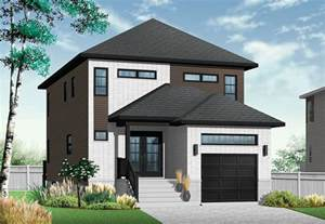 house plans for a narrow lot modern home for a narrow lot drummond house plans