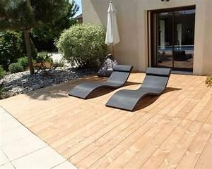 Terrasse En Bois Composite Prix : terrasse bois composite ce qu 39 il faut savoir c t maison ~ Edinachiropracticcenter.com Idées de Décoration
