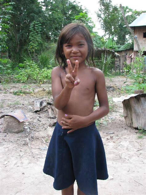 Rural Girl Posing Khmer Pure Project Flickr