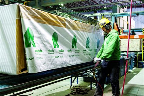 resolute forest products lumber results hurt  exchange