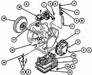 Ford Escort Transmission Diagram