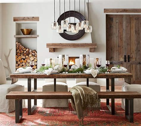 Pottery Barn Griffin Dining Table by Griffin Reclaimed Wood Dining Table Pottery Barn