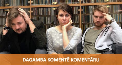 Komentē Komentāru - DAGAMBA | Radio SWH