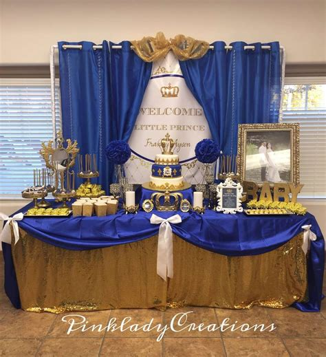 A New Prince Baby Shower Theme by Baby Boy Baby Shower Themes Squared