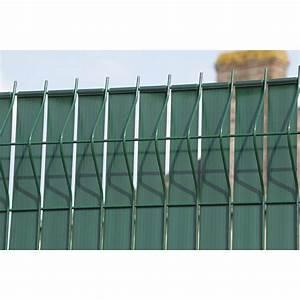 Pose Brise Vue Sur Grillage Souple : brise vue avec attaches dirickx lixo x cm ~ Dailycaller-alerts.com Idées de Décoration