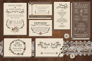 90 gorgeous wedding invitation templates design shack With wedding invitations ai template