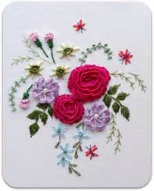 Brazilian Rose Embroidery