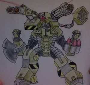 War Robot by NerdSmile on DeviantArt