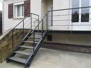 Hauteur Marche Escalier Extérieur : escalier ext rieur scadametal ~ Farleysfitness.com Idées de Décoration