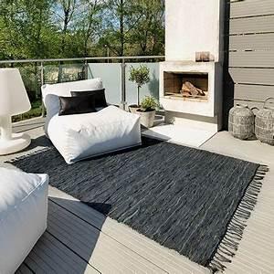 Tapis Exterieur Terrasse : des tapis sur la terrasse chic et d co ~ Zukunftsfamilie.com Idées de Décoration