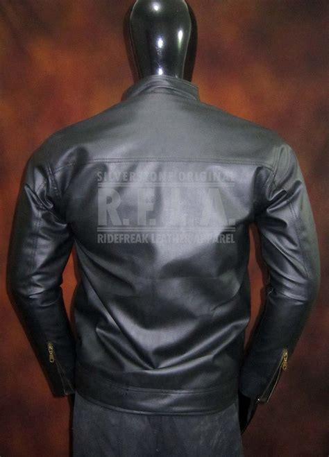 jual beli jaket kulit elegan silverstone rfla