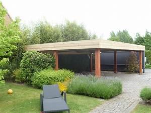 Construire Un Carport : carport bois adoss pas cher vente carports 2 voitures ~ Premium-room.com Idées de Décoration