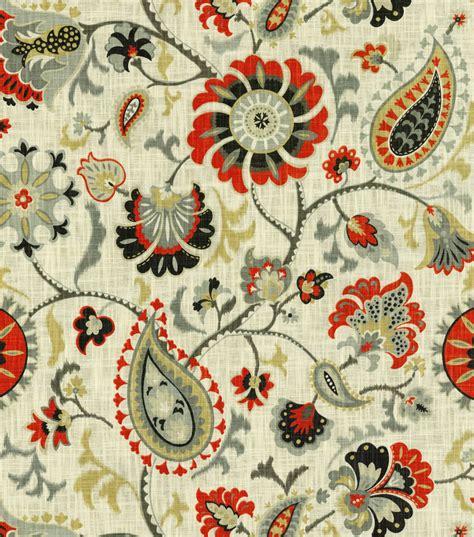 Home Decor Print Fabric Waverly Siren Song Graphite  Joann