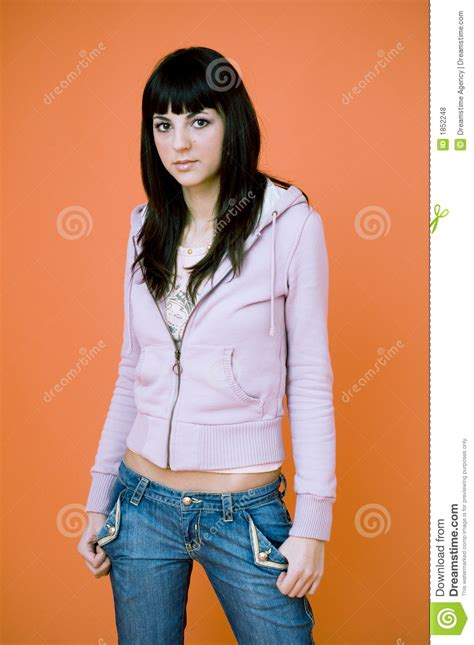 Casual Teen Girl Stock Photo Image Of Cool Cute Natural