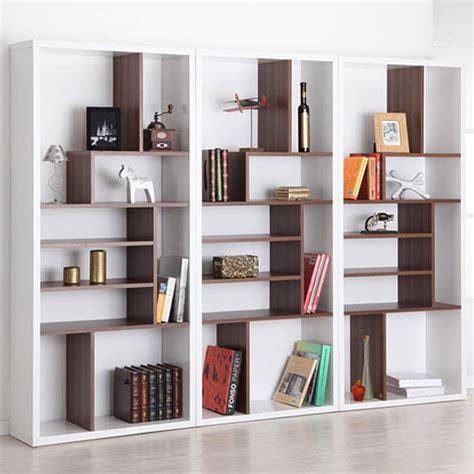 modern bookshelf plans this bart mult tiered modern bookshelf 218 works great against a 10 stylish room dividing