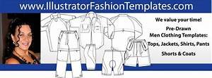 illustrator fashion design template With clothing templates for illustrator