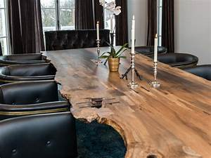 Trending Now Live Edge Furniture HGTV39s Decorating