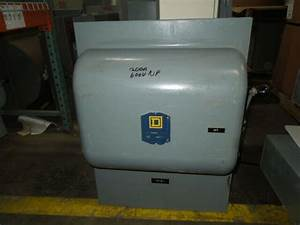 Square D 92444 200a 4p 600v Ac Double Throw Not Fusible