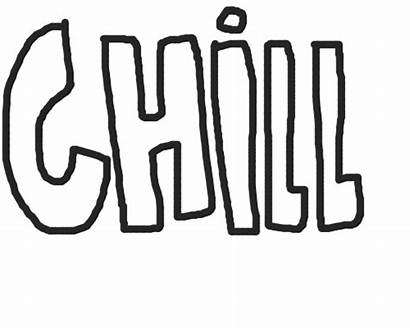 Chill Sticker Transparent Animated Giphy Gifimage