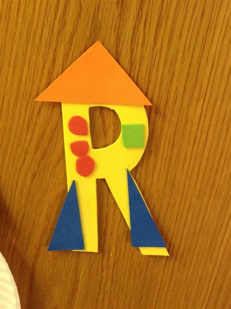 letter r for rocket craft home school preschool letter 374 | 1de66e7edc07ea6efdc787d305f1e920