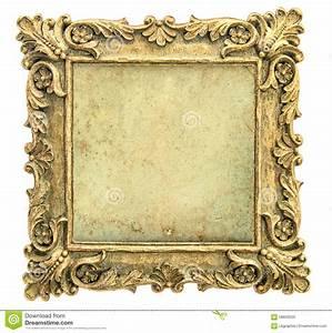 Segeltuch Mit ösen Auf Maß : antiker goldener bilderrahmen mit segeltuch auf wei em hintergrund stockbild bild von getrennt ~ Orissabook.com Haus und Dekorationen