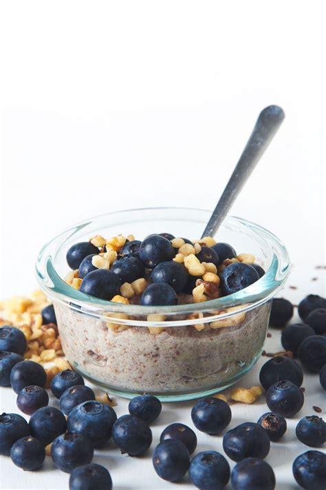 Anti-Inflammatory Flaxseed Porridge. Ingredients: ground ...