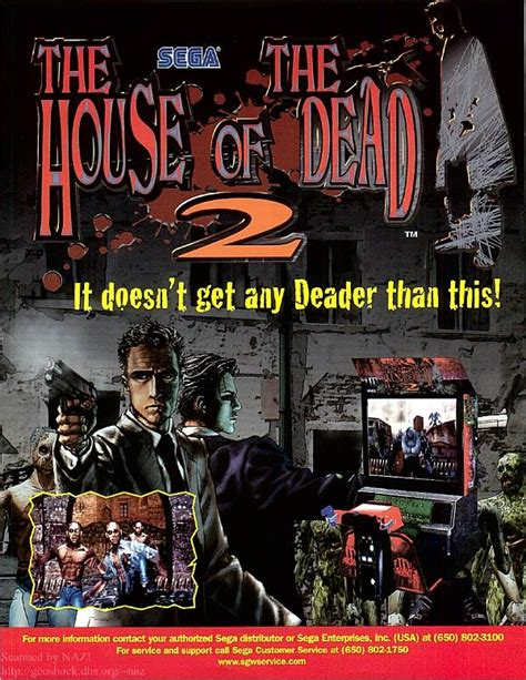 house of the dead 2 house of the dead 2 usa rom