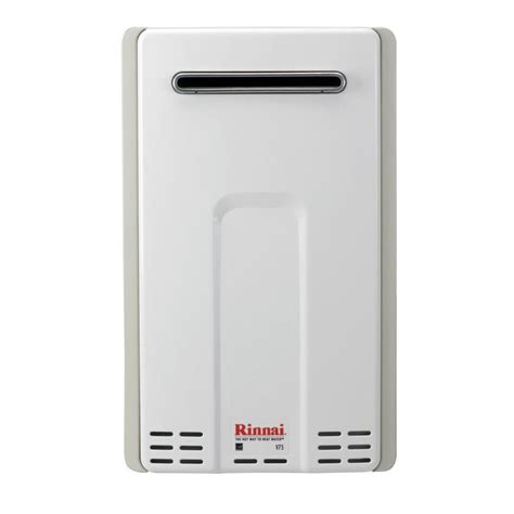 propane tankless water heater reviews shop rinnai hybrid 40 gallon 1 year limited gas