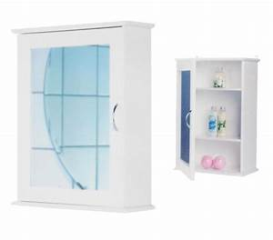 Badschrank Mit Spiegel : bad wc badezimmerschrank schrank wandregal badregal regal badschrank mit spiegel ~ Markanthonyermac.com Haus und Dekorationen