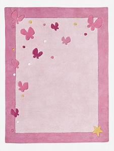 Teppich Kinderzimmer Rosa : vertbaudet kinderzimmer teppich schmetterlinge in rosa ~ A.2002-acura-tl-radio.info Haus und Dekorationen