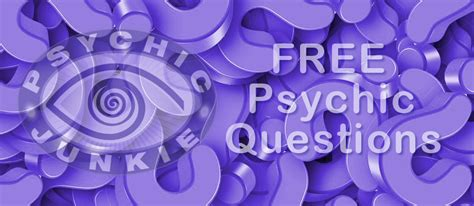 Free Psychic Questions